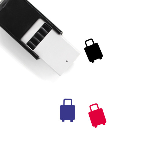 Luggage Self-Inking Rubber Stamp No. 139