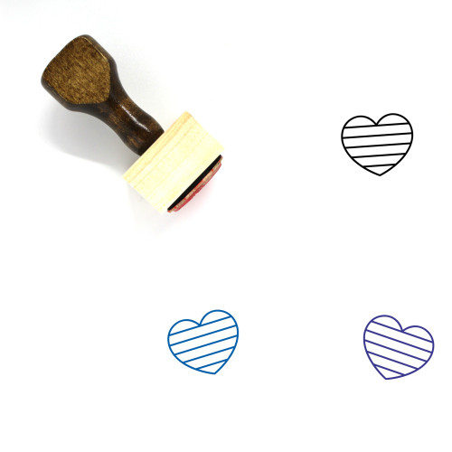 Marriage Equality Wooden Rubber Stamp No. 8