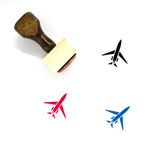 Aircraft Wooden Rubber Stamp No. 169