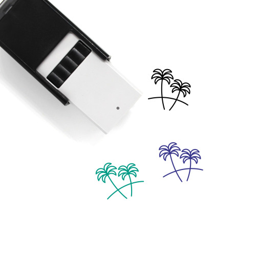 Caribbean Self-Inking Rubber Stamp No. 3