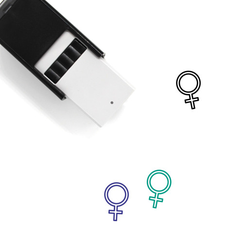 Female Self-Inking Rubber Stamp No. 270