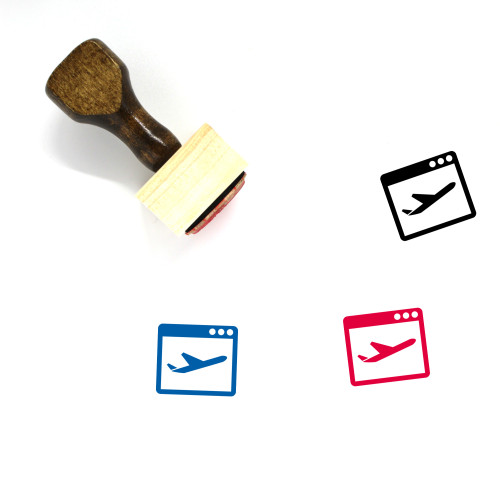 Travel Wooden Rubber Stamp No. 231