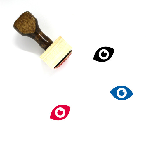 Eye Wooden Rubber Stamp No. 482