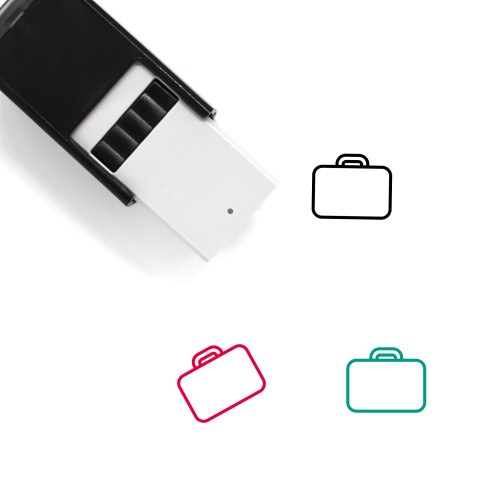 Briefcase Self-Inking Rubber Stamp No. 164