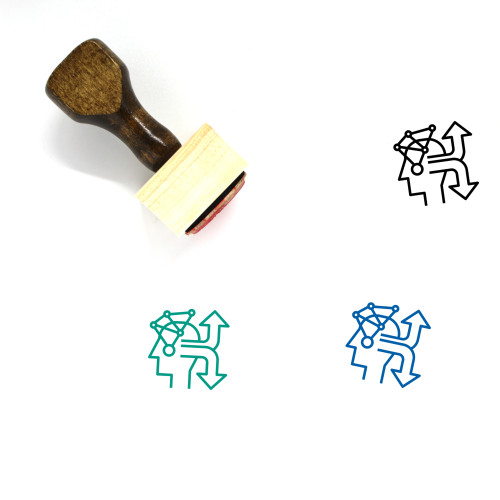Decision Wooden Rubber Stamp No. 7