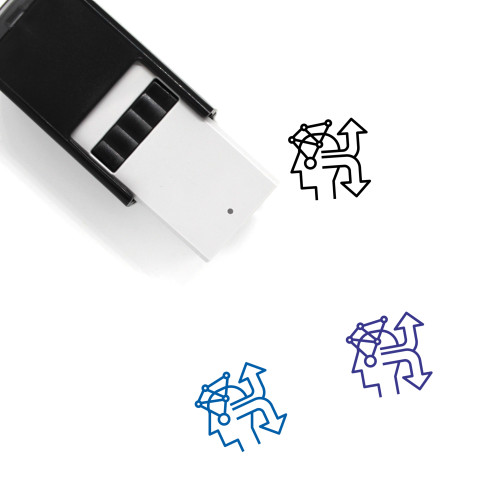 Decision Self-Inking Rubber Stamp No. 7
