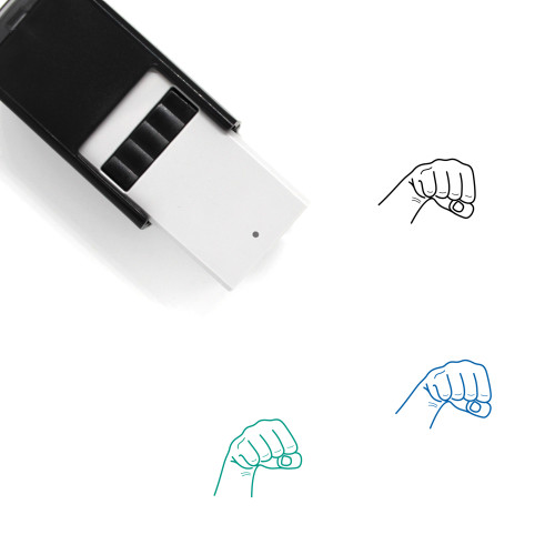 Force Self-Inking Rubber Stamp No. 1