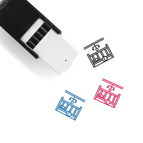 Baby Room Self-Inking Rubber Stamp No. 5