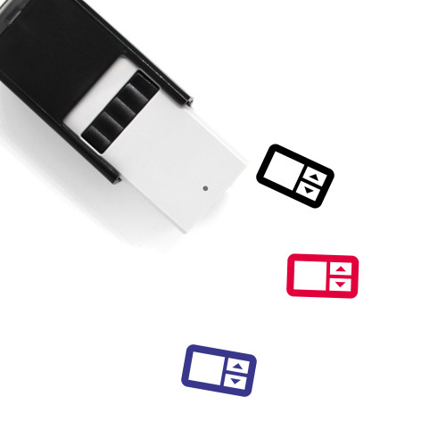 Number Field Self-Inking Rubber Stamp No. 1