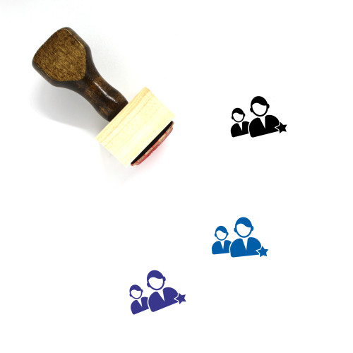 Favorite Users Wooden Rubber Stamp No. 3