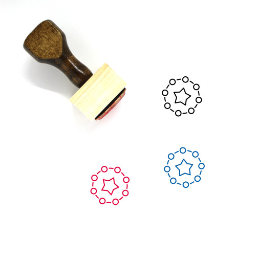 Academic Wooden Rubber Stamp No. 10