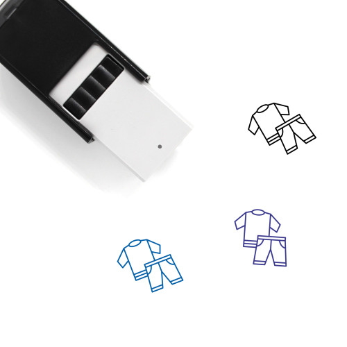Clothing Self-Inking Rubber Stamp No. 110