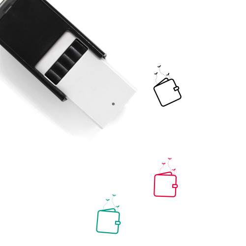 Empty Wallet Self-Inking Rubber Stamp No. 5
