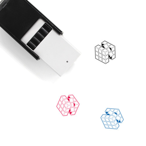 Rubik's Cube Self-Inking Rubber Stamp No. 10