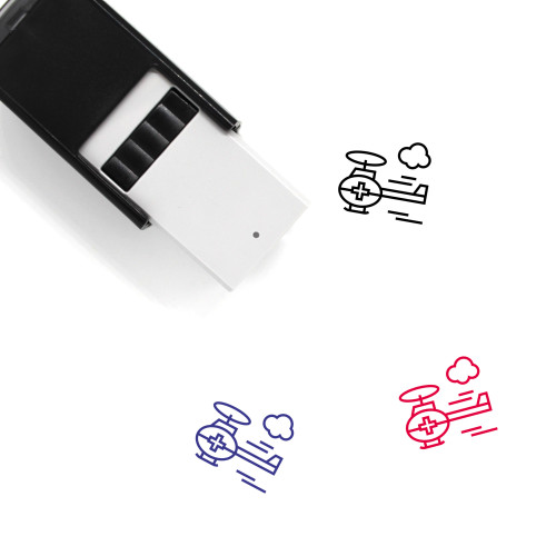 Air Ambulance Self-Inking Rubber Stamp No. 29
