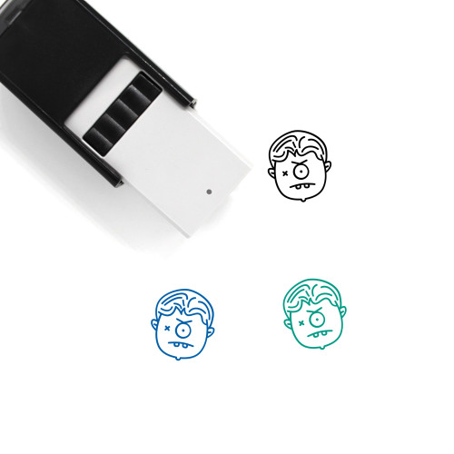 Angry Self-Inking Rubber Stamp No. 96