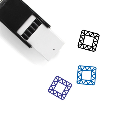 Topaz Self-Inking Rubber Stamp No. 3