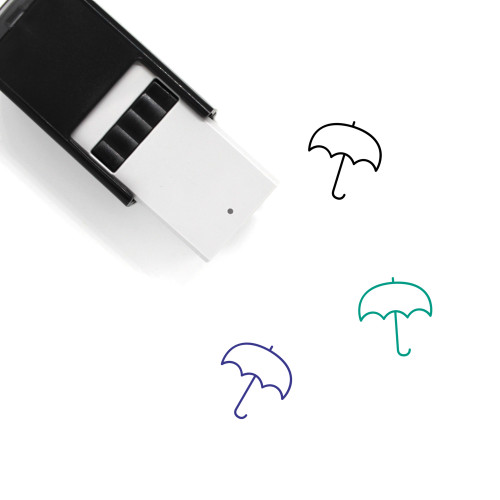 Umbrella Self-Inking Rubber Stamp No. 211