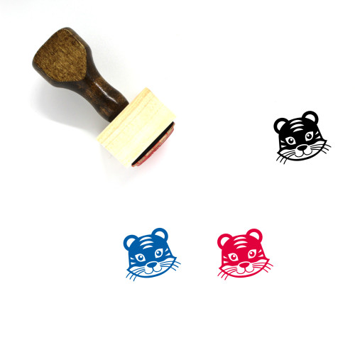 Animal Wooden Rubber Stamp No. 161