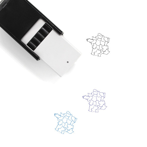 France Self-Inking Rubber Stamp No. 50