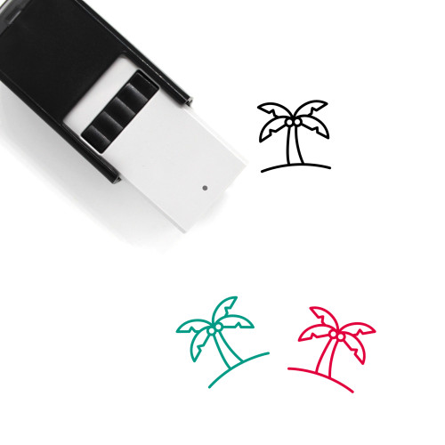 Palm Self-Inking Rubber Stamp No. 164