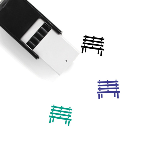 City Bench Self-Inking Rubber Stamp No. 4