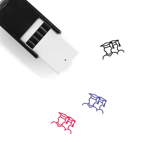 Graduates Self-Inking Rubber Stamp No. 1
