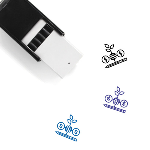 Startup Management Self-Inking Rubber Stamp No. 3