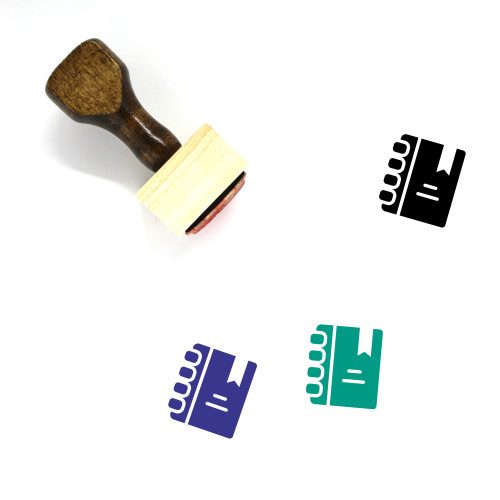 Education Wooden Rubber Stamp No. 170