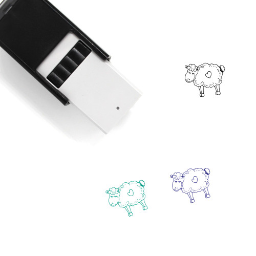 Lamb Self-Inking Rubber Stamp No. 14
