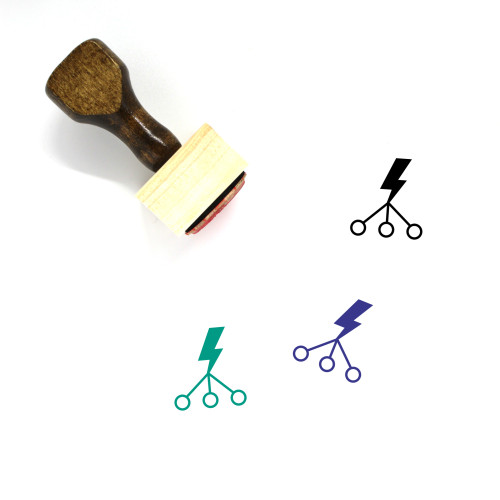 Lead Generation Wooden Rubber Stamp No. 9