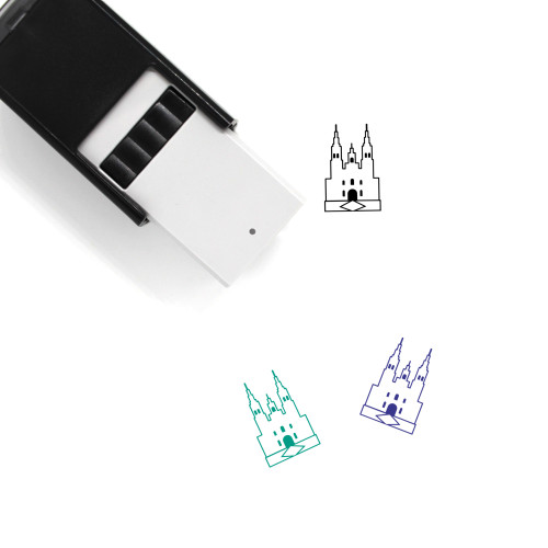 Cathedral Self-Inking Rubber Stamp No. 20