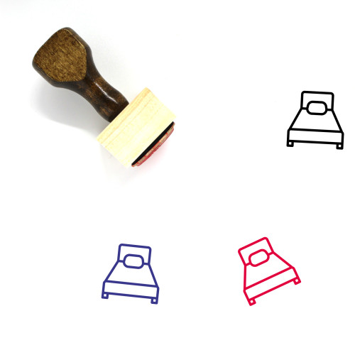 Bad Wooden Rubber Stamp No. 31