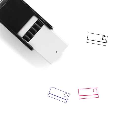 Payment Card Self-Inking Rubber Stamp No. 33