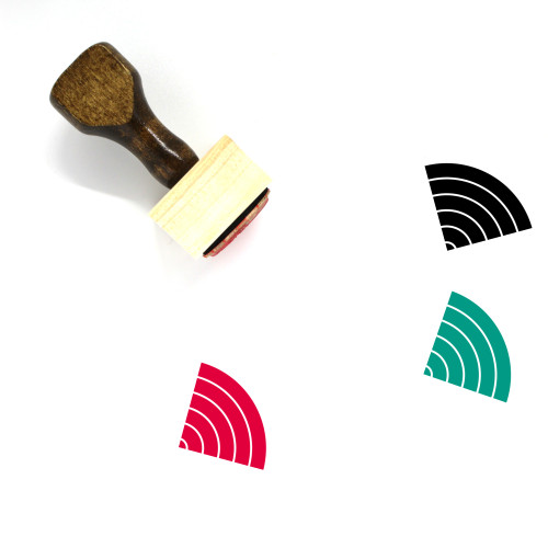 Wifi Wooden Rubber Stamp No. 160