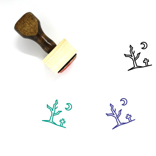 Dead Tree Wooden Rubber Stamp No. 10