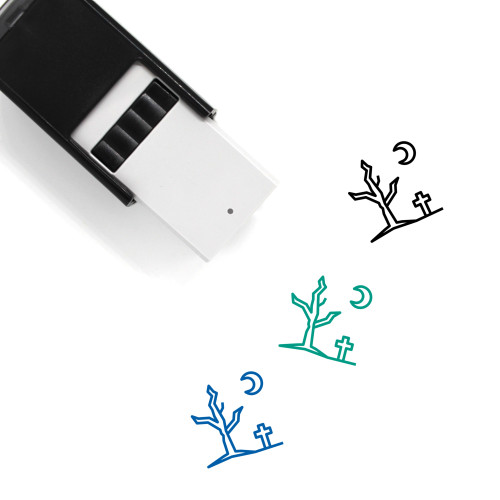 Dead Tree Self-Inking Rubber Stamp No. 10
