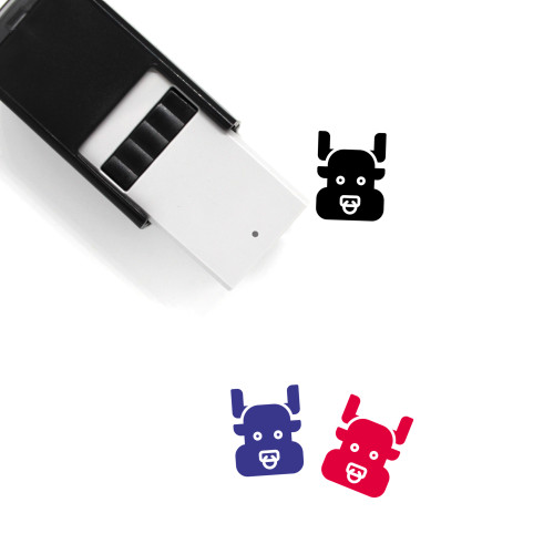 Ox Self-Inking Rubber Stamp No. 22
