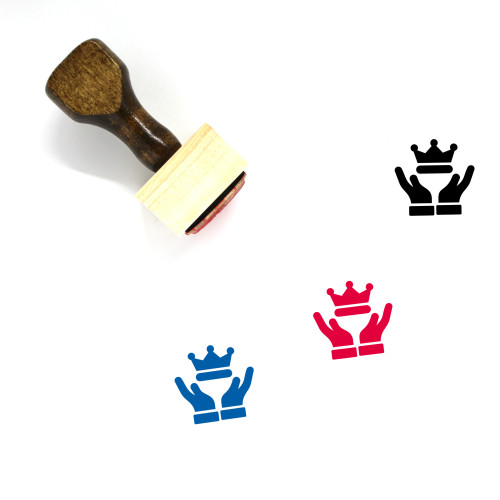 Premium Quality Wooden Rubber Stamp No. 5