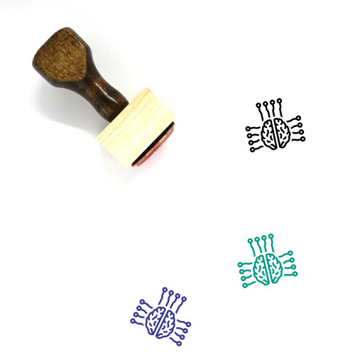 AI Wooden Rubber Stamp No. 81