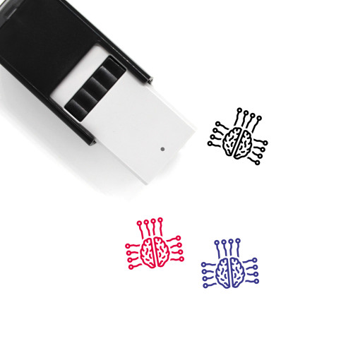 AI Self-Inking Rubber Stamp No. 81
