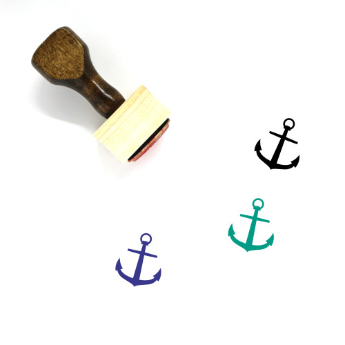 Anchor Wooden Rubber Stamp No. 591
