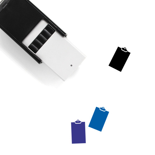 Clipboard Self-Inking Rubber Stamp No. 118
