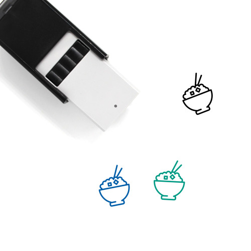 Eat Self-Inking Rubber Stamp No. 122