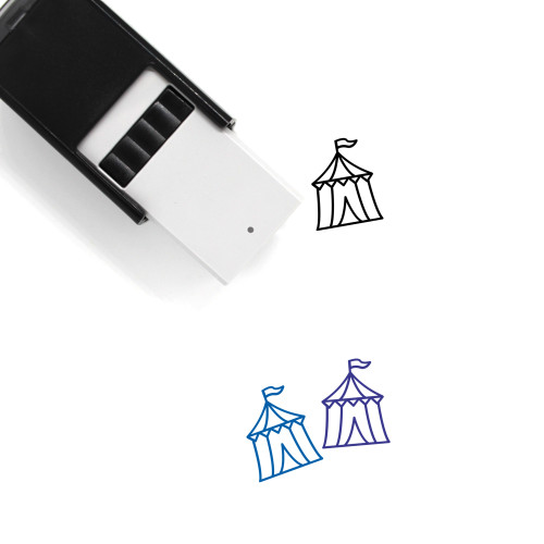 Circus Tent Self-Inking Rubber Stamp No. 37