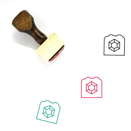 Archaeology Wooden Rubber Stamp No. 10