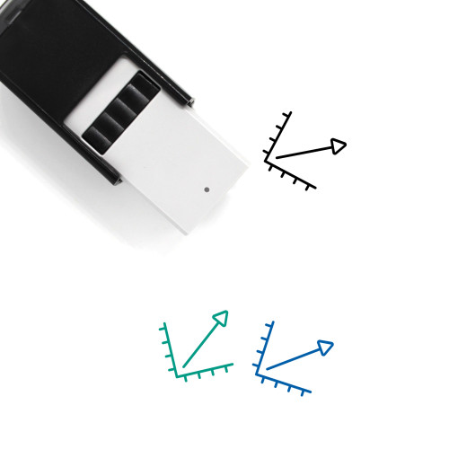 Growth Chart Self-Inking Rubber Stamp No. 37