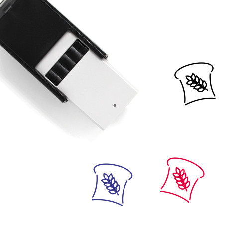 Bread Self-Inking Rubber Stamp No. 70