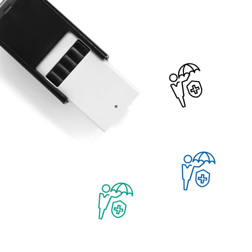 Medical Insurance Self-Inking Rubber Stamp No. 32