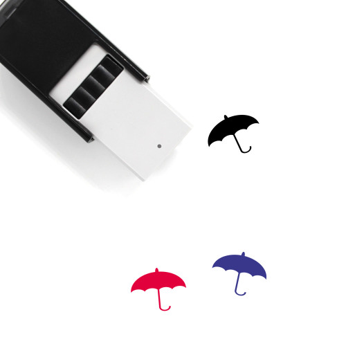 Umbrella Self-Inking Rubber Stamp No. 212